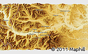 Physical 3D Map of Junín de los Andes