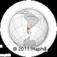 Outline Map of La Esperanza, rectangular outline