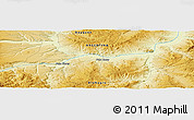 Physical Panoramic Map of Achicó