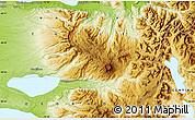 Physical Map of Antillanca