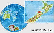 Physical Location Map of Upper Takaka