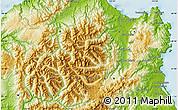 Physical Map of Upper Takaka