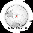 Outline Map of Okiwi Bay, rectangular outline