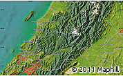 "Satellite Map of the area around 40°59'12""S,175°10'30""E"