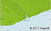 Physical Map of La Lobería