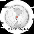 Outline Map of Percy H. Scott, rectangular outline