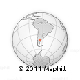 Outline Map of Aguada Cecilio, rectangular outline