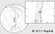 Blank Location Map of Puerto Rico
