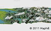"Satellite Panoramic Map of the area around 40°59'12""S,72°10'30""W"