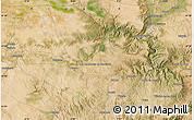 Satellite Map of Torrente de Cinca