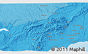 """Political 3D Map of the area around 41°16'52""""N,0°55'29""""E"""
