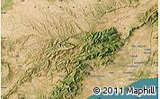 "Satellite Map of the area around 41°16'52""N,0°55'29""E"