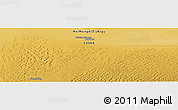 """Physical Panoramic Map of the area around 41°16'52""""N,102°4'29""""E"""