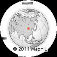 Outline Map of Tarhu, rectangular outline