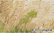 """Satellite Map of the area around 41°16'52""""N,110°25'30""""W"""