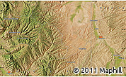 """Satellite Map of the area around 41°16'52""""N,111°16'30""""W"""