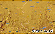 Physical Map of Huangshiya