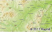 Physical Map of Dasijiazi
