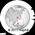 Outline Map of Dasijiazi, rectangular outline