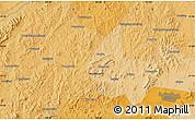 Political Map of Huangtukan