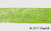Physical Panoramic Map of Jinzhou