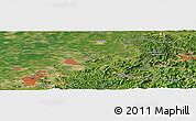 Satellite Panoramic Map of Anshan