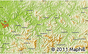 Physical Map of Xiaoshi