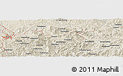 Shaded Relief Panoramic Map of Guojiabaozi