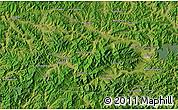 Satellite Map of Huanren