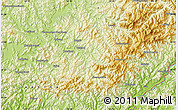 Physical Map of Erdaoyangcha