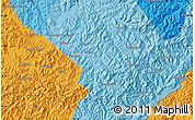Political Map of Erdaoyangcha