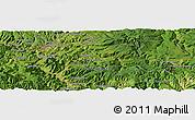 Satellite Panoramic Map of Hyesan