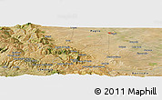 "Satellite Panoramic Map of the area around 41°16'52""N,15°22'30""E"