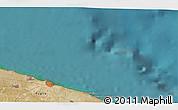Satellite 3D Map of Bari