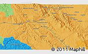 Political 3D Map of Calatayud