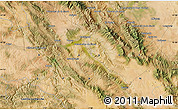 """Satellite Map of the area around 41°16'52""""N,1°37'30""""W"""