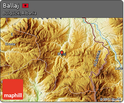 Physical Map of Ballaj