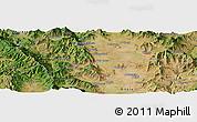 Satellite Panoramic Map of Drugovo