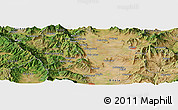 "Satellite Panoramic Map of the area around 41°16'52""N,21°19'30""E"