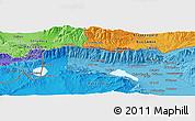 Political Panoramic Map of Strumica