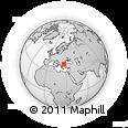 Outline Map of Evros, rectangular outline