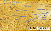 """Physical Map of the area around 41°16'52""""N,2°28'30""""W"""