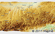 Physical 3D Map of Bekirli