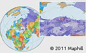 Political Location Map of Armutlu