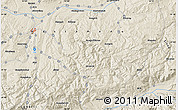 Shaded Relief Map of Armutlu