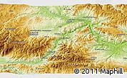 Physical 3D Map of Çayağzı