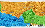 Political 3D Map of Çayağzı