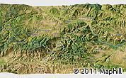 Satellite 3D Map of Çayağzı