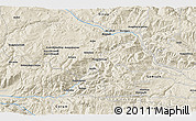Shaded Relief 3D Map of Çayağzı