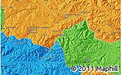 Political Map of Çayağzı